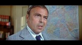 Herbert Lom as the Chief Inspector