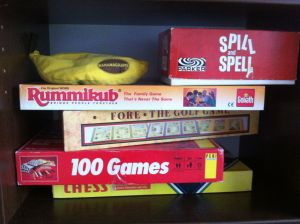 Second hand board games