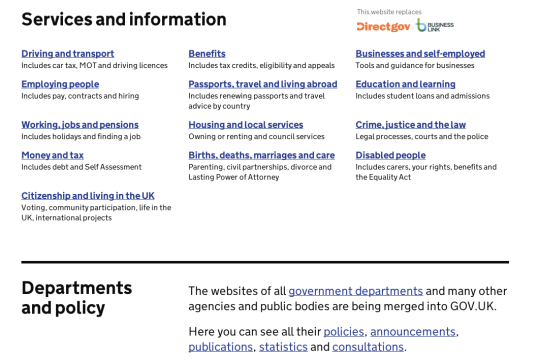 The GOV.UK website, the portal for all government services, is the winner of the Design of the Year Award 2013