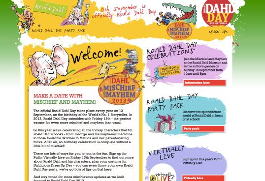 Roald Dahl Day