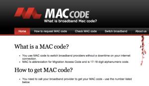 MAC Code