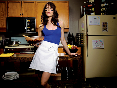 Actress Katie Aselton, from hit US TV series, The League