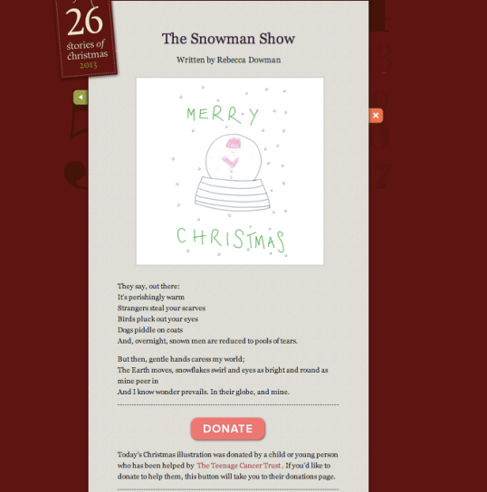 Rebecca Dowman's sestude: The Snowman Show