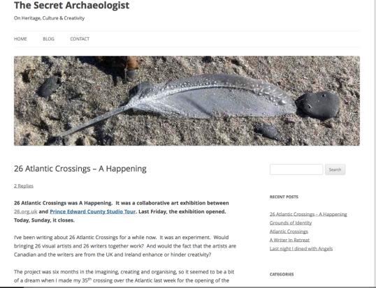 the secret archaeologist